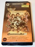 Cannonball Run II VHS 1984 Warner Clamshell Burt Reynolds Jackie Chan RARE