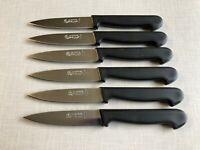 Lot de 6 couteaux  NOIR LA FOURMI THIERS  FRANCE