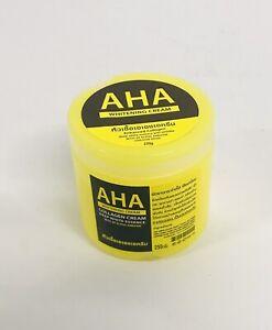 Aha Whitening Cream Enhanced Collagen With 3x Alpha Arbutin UVA/UVB SPF60 250g
