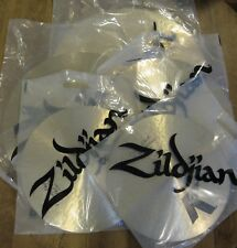 "Used Zildjian KCD900 K Custom Dark Cymbal Set 20"" Ride, 16""/18"" Crash, 14"" Hats"