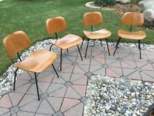 (4) Eames DCM (Dining) Herman Miller Chairs (1953)