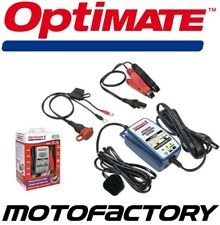 OPTIMATE DUO 1 MOTORCYCLE 12V BATTERY CHARGER AUTOMATIC MAINTENANCE TRICKLE