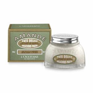 L'Occitane Almond Delicious Paste 200ml Exfoliating Perfume Soften PolishingBody