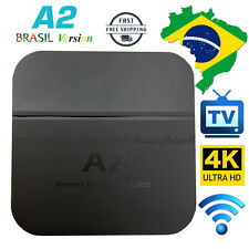 2017 Newest A2 TV Box Well as HTV5 A1 Upgrade Brazilian live TV&Adult Movies 4K