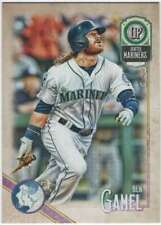 2018 Topps Gypsy Queen GQ Logo Swap Parallel #166 Ben Gamel Mariners