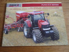CASE PUMA CVX SERIES, FULL TRACTOR RANGE SALES BROCHURE  2010