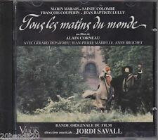TOUS LES MATINS DU MONDE MARIN MARAIS JORDI SAVALL 1991 VALOIS 3298490046401