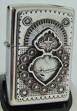 ZIPPO Feuerzeug Mexican Heart Emblem Trick Zippo 2005163 Neu & OVP