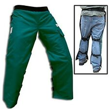 "Forester Chainsaw Safety Chaps with Pocket, Apron Style (Regular 37"", Forest ..."