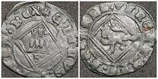 Castile & Leon Henry IV(1454-1474) spanish coin 18mm Billon Dinero (lot aaa)