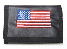 Portefeuille, porte-monnaie imprimé drapeau USA, états-unis + chaine.