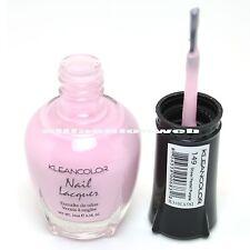 1 Kleancolor Nail Polish Lacquer #149 Sheer Pastel Purple Manicure