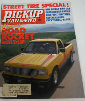 Pickup Van & 4WD Magazine Road Rocket Buildup June 1983 080614R