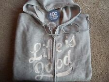 Life is Good Relaxed Fit Go-To Zip Hoodie Jacket~NEW~Sz L