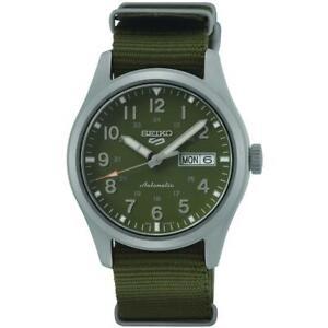 SEIKO SRPG33K1 Seiko 5 Automatic Field Watch Nylon Strap Authorised Stockist