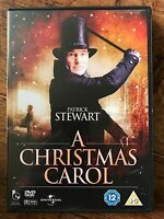 A Christmas Carol DVD 1999 Charles Dickens Scrooge Classic w/ Patrick Stewart