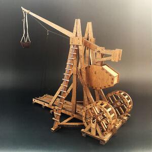 Medieval Trebuchet Wooden model kit Wood Construction Kit GIFT 240*220*200cm