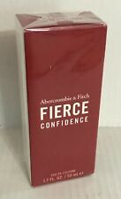 Abercrombie & Fitch FIERCE CONFIDENCE Cologne Spray 1.7 oz / 50 mL NEW!