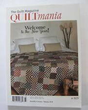 QUILTmania Magazine January February 2018 No. 123 The Quilt Magazine