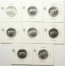 1967 Canada 25 Cents Silver Lot of 8 from Unc #11757