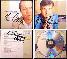 QUASTHOFF THIELEMANN OELZE Signed DIE STIMME Wagner Lortzing Weber Strauss CD