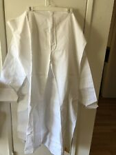 Mens Kurta Set White Size 44 Shirt Pants