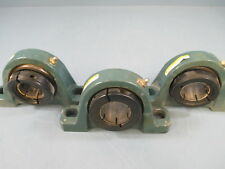 Dodge P2Bdl107 2 Bolt Pillow Block Bearing Lot of 3 - Used
