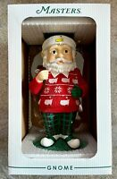 2020 AUGUSTA NATIONAL MASTERS CHRISTMAS GNOME- LIMITED -NEW IN BOX-FAST SHIPPING
