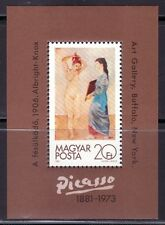 HUNGRIA  1981 ARTE. PINTURA. HB 157 PABLO PICASSO