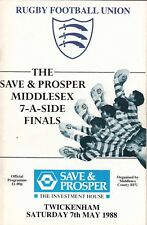 Middlesex Sevens finales 1988 @ Twickenham