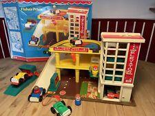 Fisher Price Garage 🚘 Parkhaus 930, original Zubehör👍vintage + OVP🌸