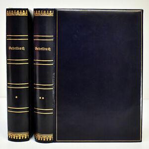 Gebetbuch für die neue Synagoge in Berlin. Theil 1 und 2 (1900-04). (Komplett).
