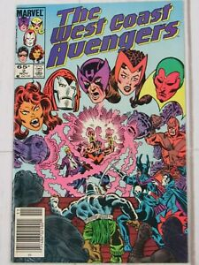 The West Coast Avengers #2, Nov. 1985 Marvel Comics