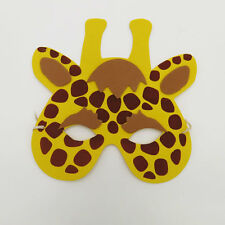 Giraffe Zoo Farm Animal Jungle Safari Foam Mask Costume Fancy Dress New