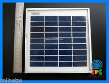 9V 3 Watt Solar Panel Aluminum Casing ,free 2m DC Jack Cable for School Projects