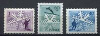 35631) Poland 1957 MNH 50 Years Of Skiing IN Poland 3v