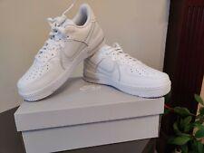 Nike Air Force 1 React - White/Pure Platinum - UK 8