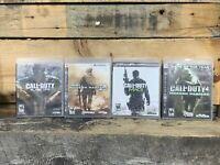 Call of Duty Modern Warfare Lot Sony Playstation 3 PS3 Trilogy Lot Of 4 Games