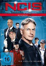 NCIS-NAVAL CRIMINAL INVESTIGATE SERVICE SEASON 12 MCCALLUM,DAVID/+6 DVD NEU
