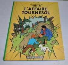 TINTIN: l'Affaire Tournesol BD French Comic Book HERGE Casterman 1980s