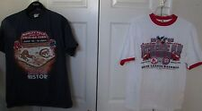 Lot of 2 Red Sox vs. Cubs First Interleague Play T-shirts Medium 2005