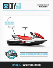 KAWASAKI STX 12F 15F RED GRAY Seat Skin Cover 05 06 07+ FREE PDF MANUAL~