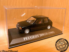 PEUGEOT 205 GTi BLACK 1985 1:43 WITH BOX!! MINT!!!