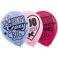 JoJo Siwa Birthday Party Latex Balloons, 6ct