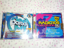 Deejay Parade Estate 2004 2 CD Discomania Mix 2005 Radio 105 Dance Compilation
