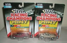 RACING CHAMPIONS MINT LOT OF 2 '99 SILVERADO/'99 FORD 350 DUALLY.2018 SERIES NEW