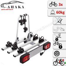AHAKA AHIRO3 Porte-vélo d'Attelage Pliable pour 3 Vélos