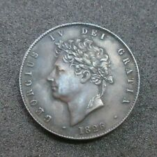 More details for 1826 george iv half penny spink ref 3824 in auncirculated condition
