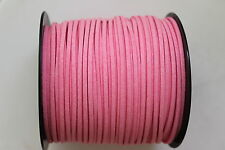10 METERS PINK COLOUR SUEDE LEATHER CORD