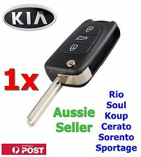 1x KIA Soul Cerato Sportage Rio Sorento Flip Key Remote Shell/Case/Enclosure